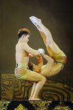 Beijing acrobats Stock Photo