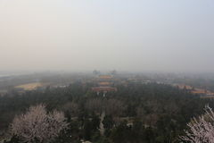Beijing Air Pollution stock image