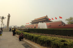 Beijing Air Pollution royalty free stock image