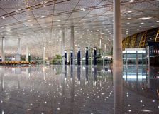 Beijing airport Royalty Free Stock Photography