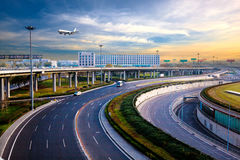 Beijing  airport  Urban Architecture Stock Images