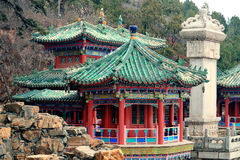 Beijing Ancient architecture Stock Photo