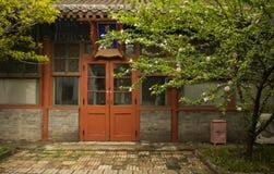 Beijing Ancient Observatory. Office China door Stock Photo