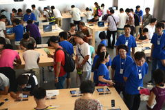Beijing Apple Store Royalty Free Stock Images