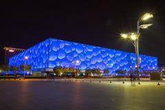 Beijing aquatic center Stock Photo
