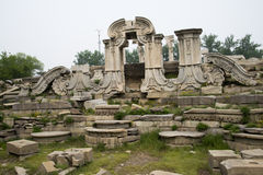 Beijing Asian Chinese Old Summer Palace European p Stock Image