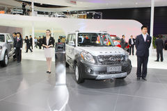 Beijing auto show Stock Photography
