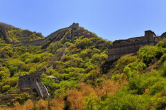 Beijing Badaling Great Wall remnant Royalty Free Stock Image