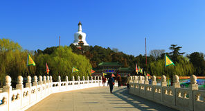 Beijing beihai park of china Stock Photos