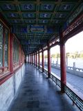 Beijing beihai park of china. Photo was taken on:2018.11.9 royalty free stock photography