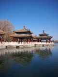 Beijing Beihai Park Five-Dragon Pavilion Royalty Free Stock Photo