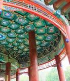 Beijing beihai park pavilion Stock Photography