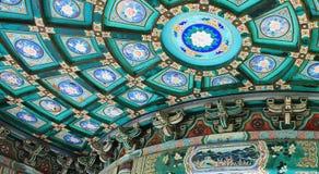 Beijing beihai park pavilion Royalty Free Stock Image