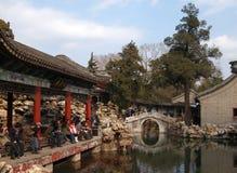 The Beijing Beihai Park White pagoda Royalty Free Stock Image