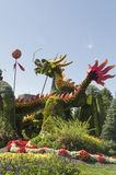 From Beijing: Blessing of the Good Omen Dragons. MosaïCanada 150, Gatineau Quebec Canada August 24, 2017: A celebration of Canada`s 150 years of stock photo