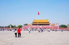 beijing brama Tiananmen Zdjęcie Royalty Free