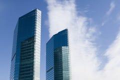 beijing budynków szkło nowożytny Obraz Stock