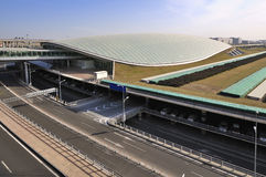 Beijing Capital  Airport Royalty Free Stock Photography