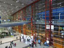 Beijing Capital  Airport Royalty Free Stock Photo