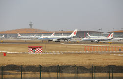 Beijing Capital  Airport Stock Photos