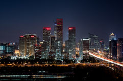 Beijing CBD Stock Photography