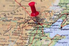 beijing center finansiellt Arkivfoton