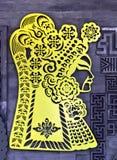 Beijing, China ancient drama characters Royalty Free Stock Images