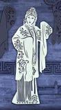 Beijing, China ancient drama characters Royalty Free Stock Photo