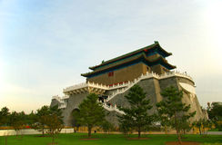 Beijing, China ancient towers Stock Image