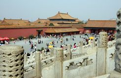 Beijing, China: The Forbidden City Stock Image