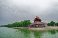 Beijing China Forbidden City. Is an ancient and historic place royalty free stock image