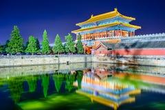 Beijing China Forbidden City Stock Images