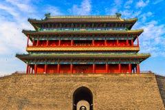 Beijing China Gatehouse Stock Photography