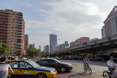 Beijing, China. Highway in downtown - 6 Stock Photo