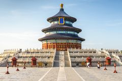 Temple of Heaven in Beijing, China Stock Image