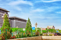 BEIJING, CHINA- MAY 18, 2015 :Beijing-modern office and resident Royalty Free Stock Images