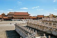 BEIJING - CHINA, MAY 2016: The Forbidden City royalty free stock photos