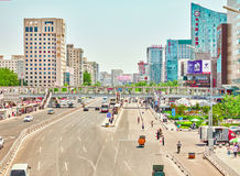 BEIJING, CHINA - MAY 20, 2015: The people, the citizens of Beiji Royalty Free Stock Photos