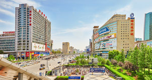 BEIJING, CHINA - MAY 20, 2015: The people, the citizens of Beiji Stock Photo