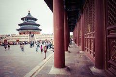 BEIJING, CHINA - 17 MAY 2018: Temple of Heaven landmark of Beiji. Ng city, China Stock Photo