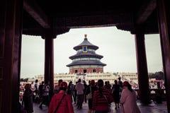 BEIJING, CHINA - 17 MAY 2018: Temple of Heaven landmark of Beiji. Ng city, China Stock Image