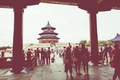 BEIJING, CHINA - 17 MAY 2018: Temple of Heaven landmark of Beiji. Ng city, China Stock Images