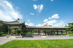 Temple of Heaven Park in Beijing, China Royalty Free Stock Photos