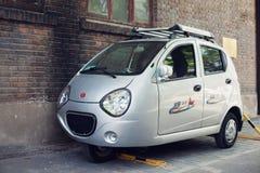 BEIJING, CHINA - MAY 12, 2013: Three wheel car in Beijing Stock Images