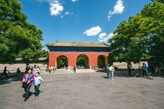 Temple of Heaven Park in Beijing, China Stock Images