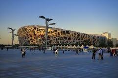 Beijing China National Stadium Bird Nest Stock Photography