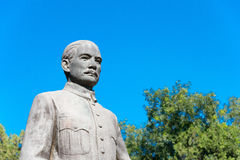 BEIJING, CHINA - Oct 11 2015: Sun Yat-sen Statue at Zhongshan Pa. Rk. a famous historic site in Beijing, China Stock Photography