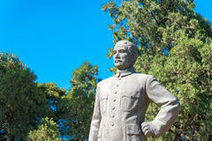 BEIJING, CHINA - Oct 11 2015: Sun Yat-sen Statue at Zhongshan. Park. a famous historic site in Beijing, China Royalty Free Stock Image