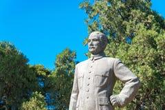 BEIJING, CHINA - Oct 11 2015: Sun Yat-sen Statue at Zhongshan  Royalty Free Stock Image