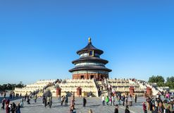 BEIJING, CHINA - October 15, 2013: Complex Temple of Heaven, Beijing, China stock photography
